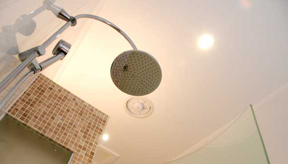 Designo rain shower system with Thermostatic mix valve for temperature control