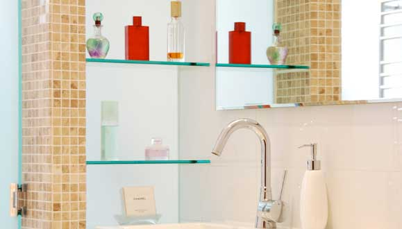Unique, eco-friendly bathroom renovation with Hansa Tapware & Designo basin mixer