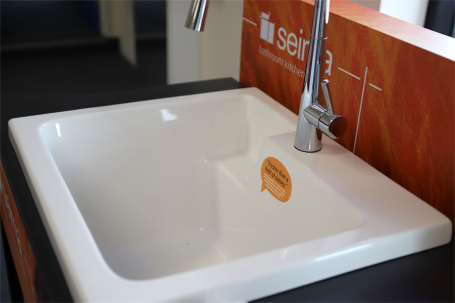 Range of sinks and tapware for laundry renovations