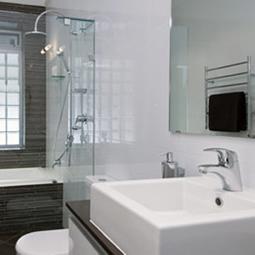 Sophisticated bathrooms and sleek designs
